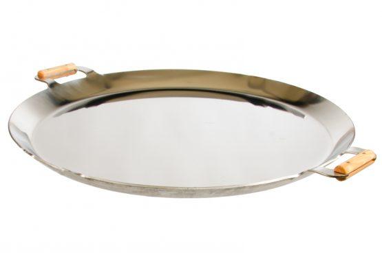 GrillSymbol Paella Frying Pan PRO-720 inox