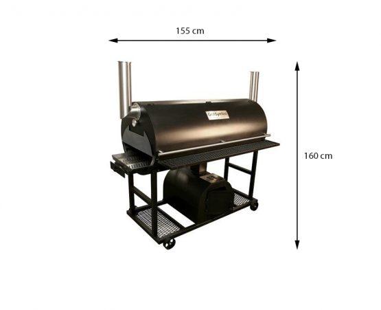 GrillSymbol BBQ Rökgrill Q 1250