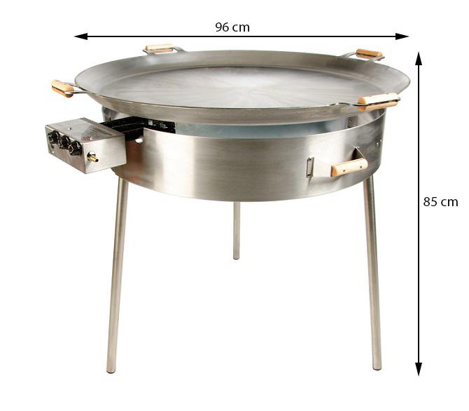 GrillSymbol stekhäll gasol PRO-960 light, ø 96 cm