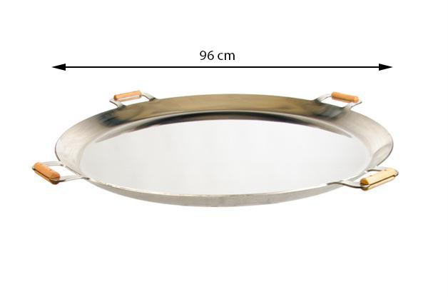 GrillSymbol Stekhäll FP-960 inox