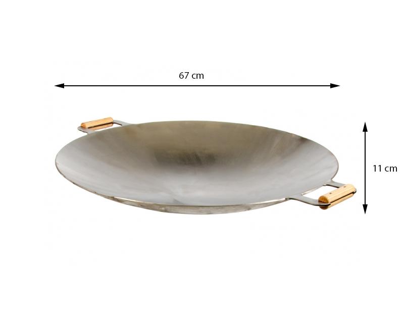 GrillSymbol Wok-panna 675