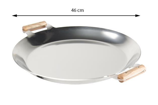 GrillSymbol Stekhäll FP-460 inox