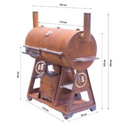 GrillSymbol BBQ rökgrill Smoky Beast XL