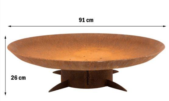 GrillSymbol Eldstad Utomhus Chiaro XL