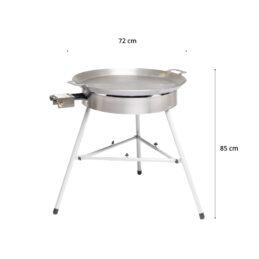 GrillSymbol stekhäll gasol BASIC-720, ø 72 cm